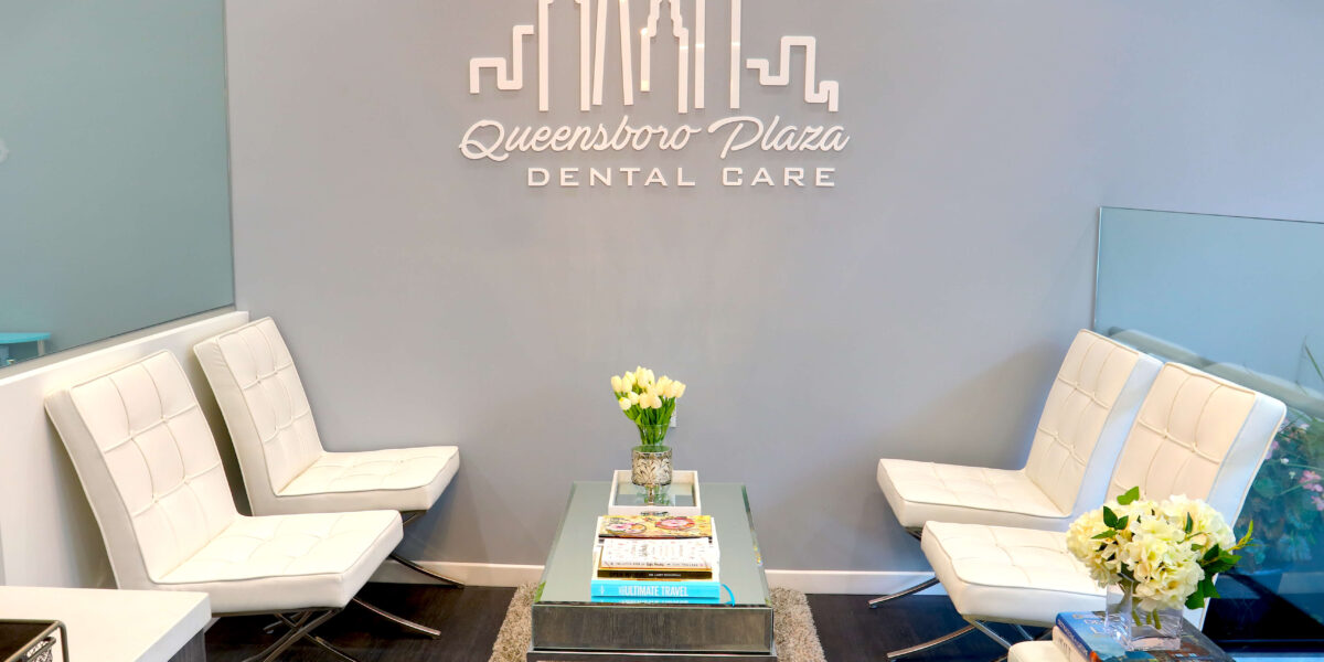 Another view of the reception area at Queensboro Plaza Dental Care